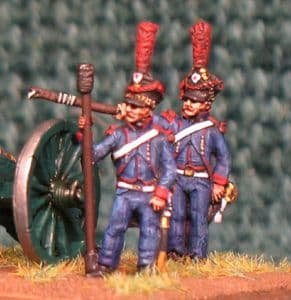 15mm, Napoleonic French Line Horse Artillery 6pdr AB figures