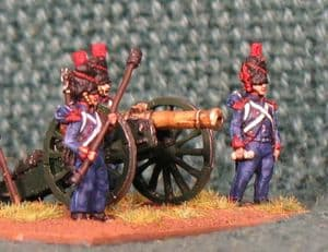 15mm, Napoleonic French Old Guard Foot Artillery AB figures