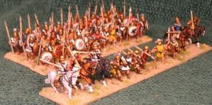 15mm Xyston, Athenian 450 to 275BC DBA Starter Army (ANC3002)