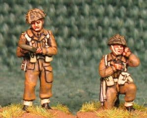 20mm, WW2 British Infantry BLA12 AB 5 figures