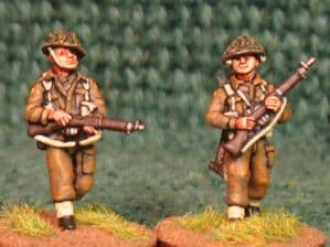 20mm, WW2 British Infantry BLA4 AB 6 figures