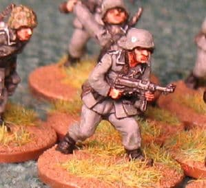 20mm, WW2 German SS Infantry AB 10 figures